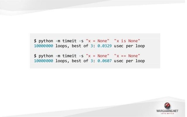 • Всё в Python – это объект.• Каждая переменная – ссылка на объект.• Оператор is сравнивает эти ссылки.class A:passa = A()...