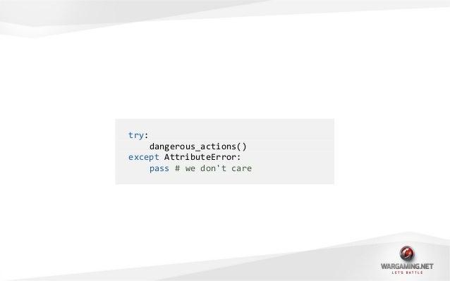 from contextlib import contextmanager@contextmanagerdef ignore_errors(*errors):try:yieldexcept errors:pass