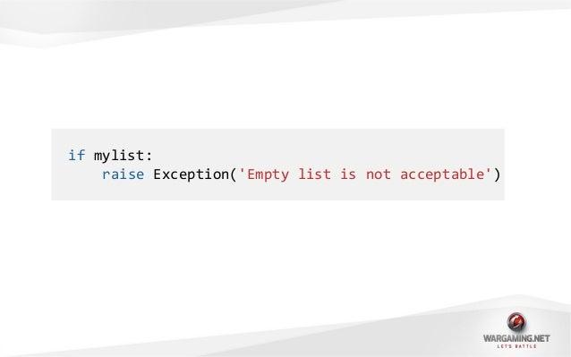 class Basket(object):empty = Trueitems = []def __nonzero__(self):return not self.emptydef __len__(self):return len(self.it...