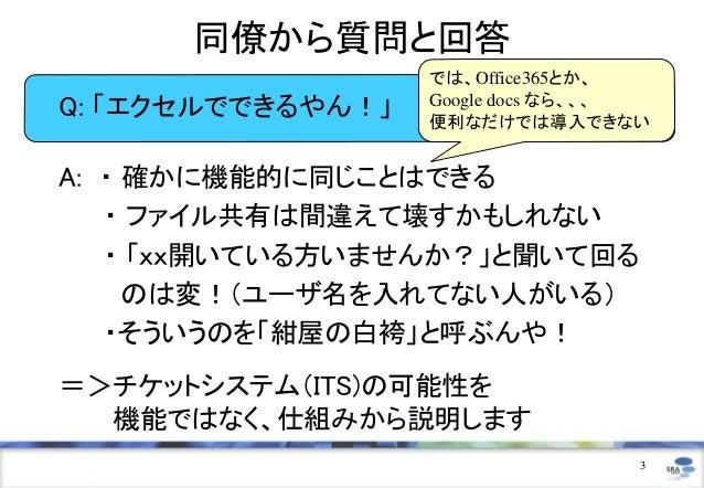 チケットシステムの可能性 - 開発から業務まで - Slide 3