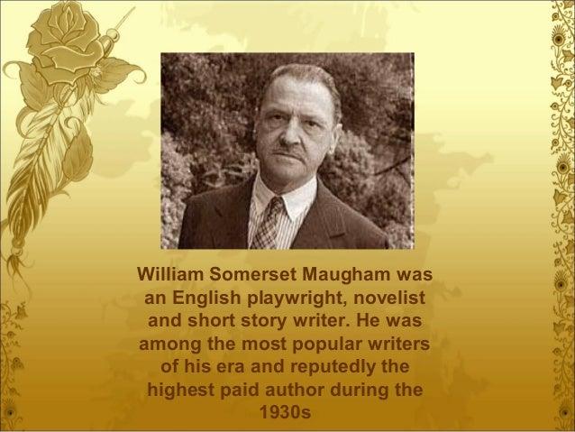 the luncheon by w somerset maugham