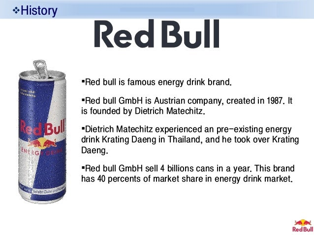 brand positioning of red bull Positioning statementto young, hip, rock music consumers, red bull recordsis the music company that best leverages its extensiveoffering of distribution channels, content formats, andconsumer touch-points to support and showcaseemerging artists, which is good because it provides a newsustainable business model for connecting musicconsumers with .