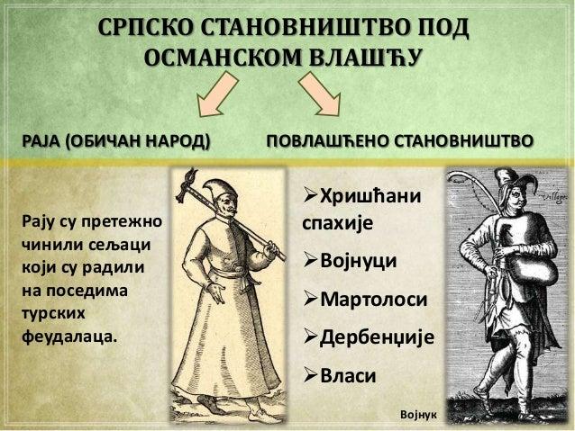 Срби под османском влашћу Slide 3