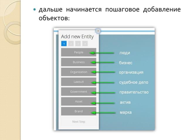   чтобы удалить ненужную стрелку, нужно также кликнуть на «New Link», затем на объекты, а затем снять галочку на боковой ...
