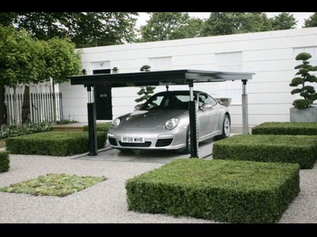 防竊隱藏式車庫