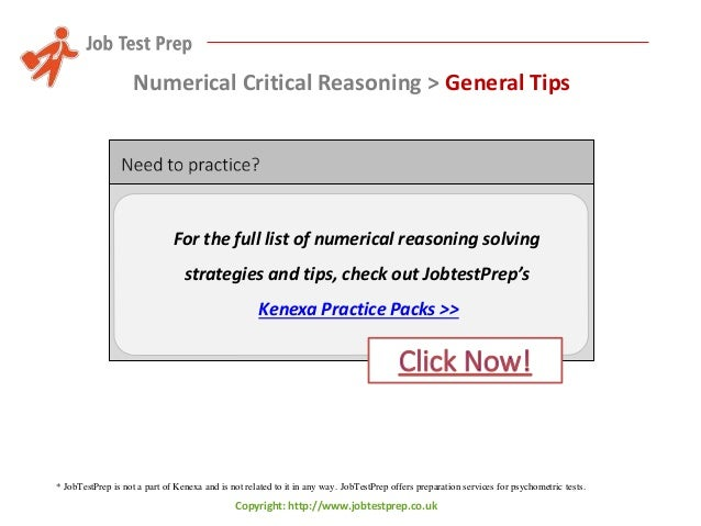 Numerical Ability Practice Test with Explanations (Pdf ...