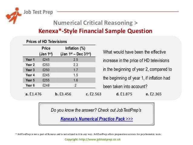 Preparation for kenexas numerical critical reasoning tests tips an numerical critical reasoning financial tips 18 fandeluxe Choice Image