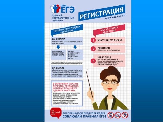 плакаты ЕГЭ Slide 3