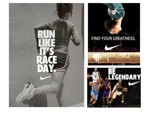 Слоганы которые мы можем предложить компании Nike  Только начни, и ты победишь!