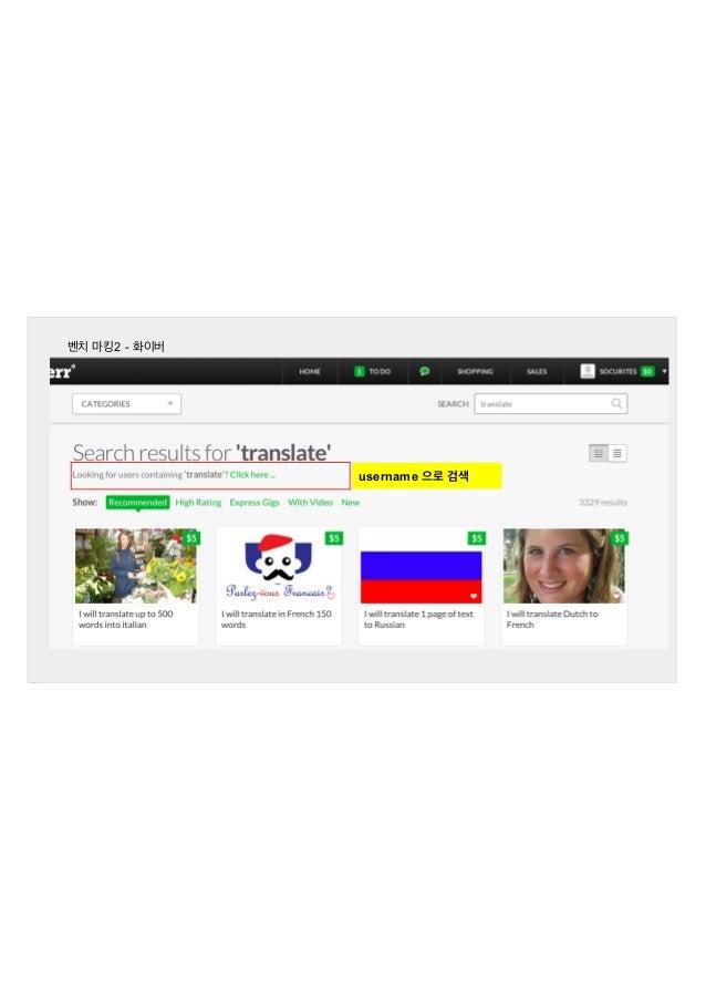 벤치 마킹2 - 화이버  username 으로 검색