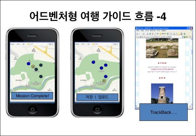 어드벤처형 여행 가이드 흐름 -4  1  1  3  M  3 2  2  4  4 M  Mission Complete!  저장 | 업로드  TrackBack….