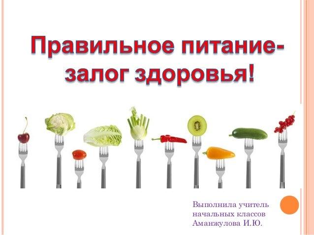 картинки про правильное питание рацион