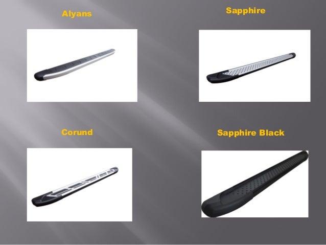 Пороги из алюминиевого профиля Slide 3