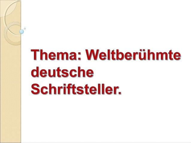 Johann Wolfgang von Goethe ( 1749- 1832) Der weltberűhmte deutsche Dichter und Wissenschaftler. Schrieb lyrische Gedichte ...