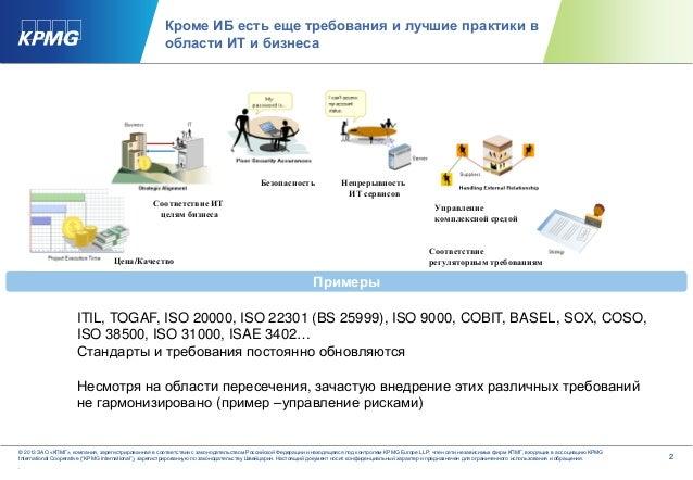 Как одновременно соответствовать различным регуляторным требованиям Slide 3