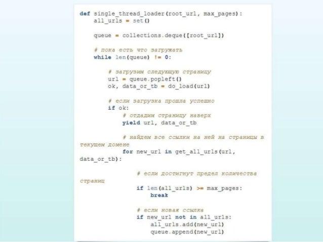 Обзор способов написания конкурентных программ в питоне  Slide 3