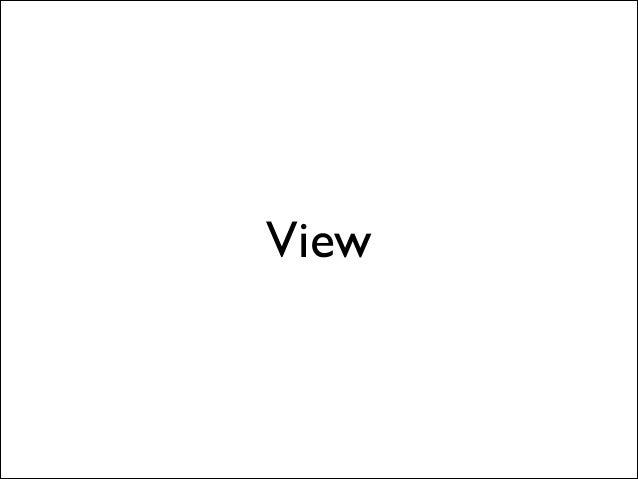 Delegation/Protocol • @property (weak) id <Protocol> delegate;  • 然後設計⼀一組 Protocol  • 例 -(Snake *)viewDidRequestSnake:(V...