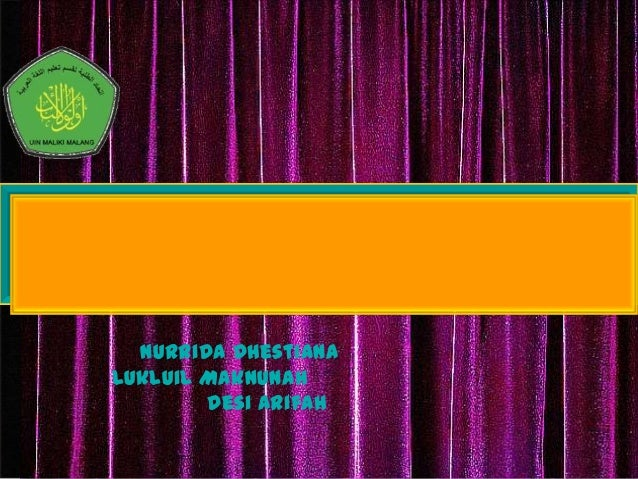 4/15/2014 Free Template from www.brainybetty.com 1 Nurrida Dhestiana Lukluil Maknunah Desi Arifah