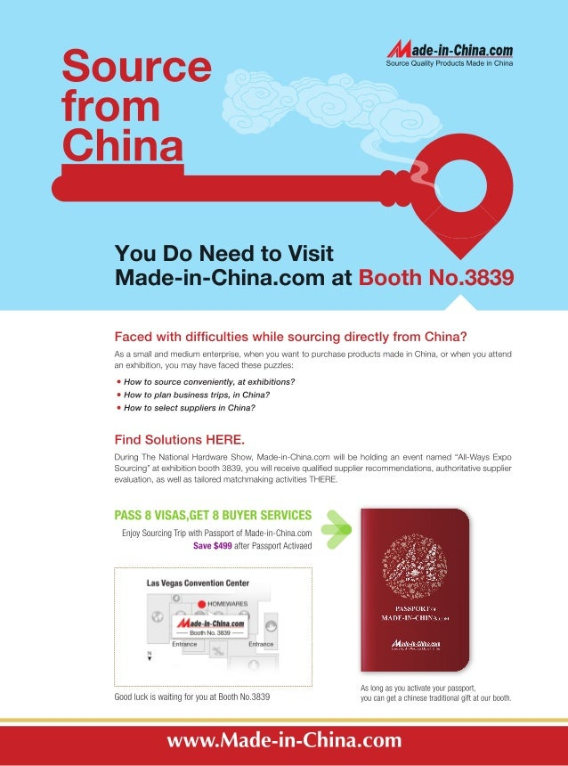 Source from China, You Do Need to Visit Made-in-China.com