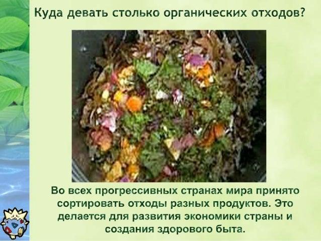 Oрганические      отходы.  Slide 2