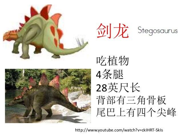 恐龙 Slide 3