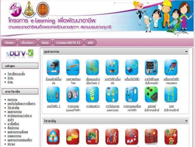 e-Learning เพื่อพัฒนาอาชีพ
