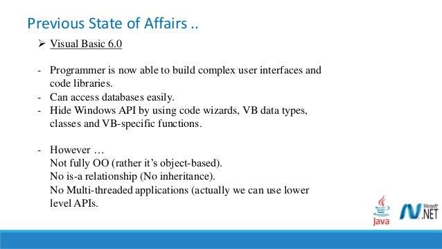 Visual Basic programmer's guide to the . NET Framework ...