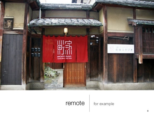 remote for example 9