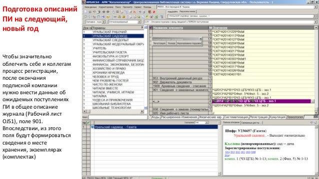 Число Пи Detail: ИРБИС: регистрация периодических изданий