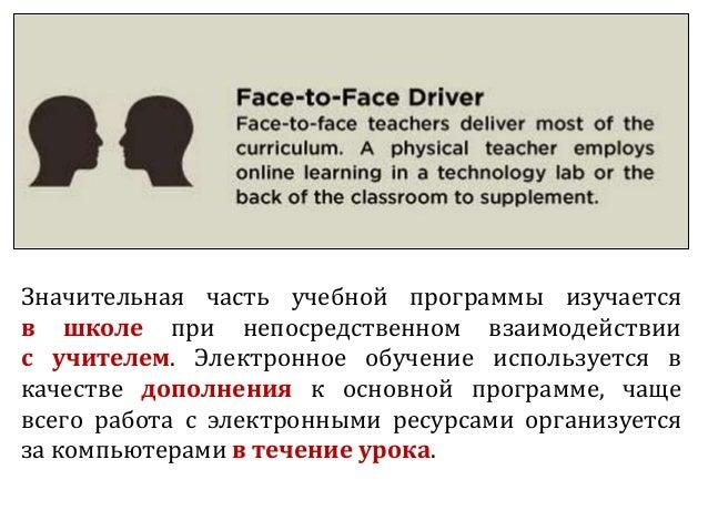 Значительная часть учебной программы изучается в школе при непосредственном взаимодействии с учителем. Электронное обучени...