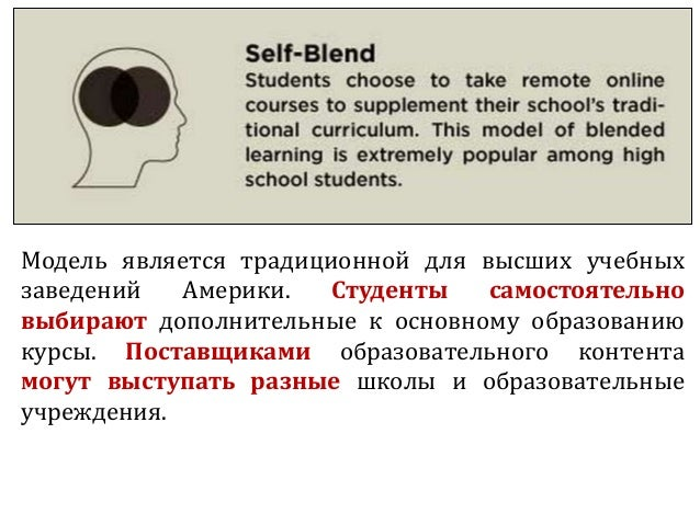 Модель является традиционной для высших учебных заведений Америки. Студенты самостоятельно выбирают дополнительные к основ...