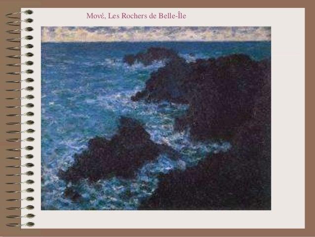 Μονέ, Les Rochers de Belle-Île