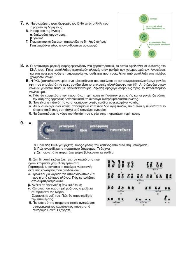 απολυτήριες εξετάσεις στη βιολογία γ γυμνασίου Slide 3