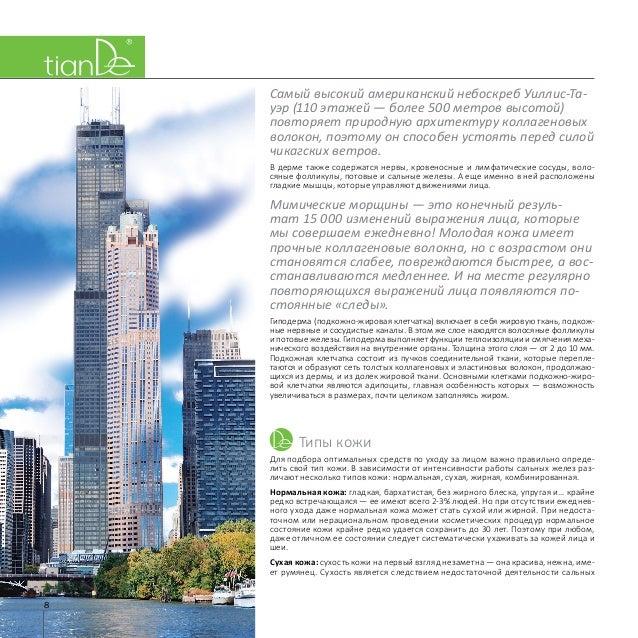 8 Самый высокий американский небоскреб Уиллис-Та- уэр (110 этажей— более 500 метров высотой) повторяет природную архитект...