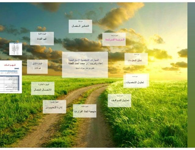 المهارات الشخصية الاستراتيجية العشر Slide 2