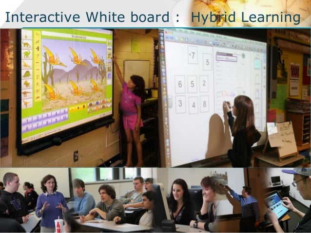 Interactive White board : Hybrid Learning