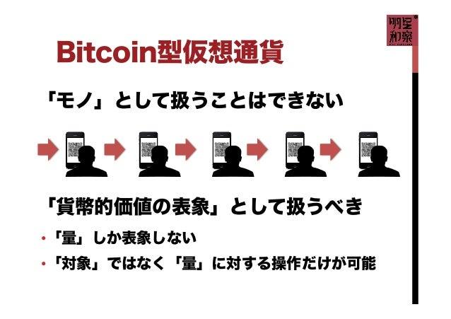 明星和楽 Bitcoin の概要 Slide 3