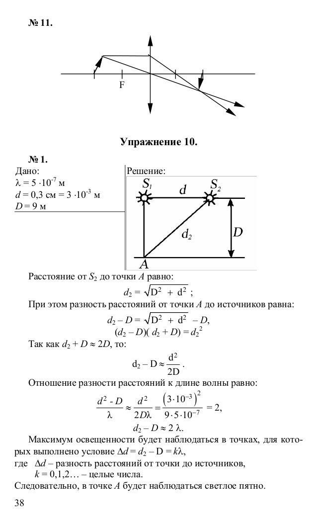 Мякишев по скачать гдз класс за физике 11