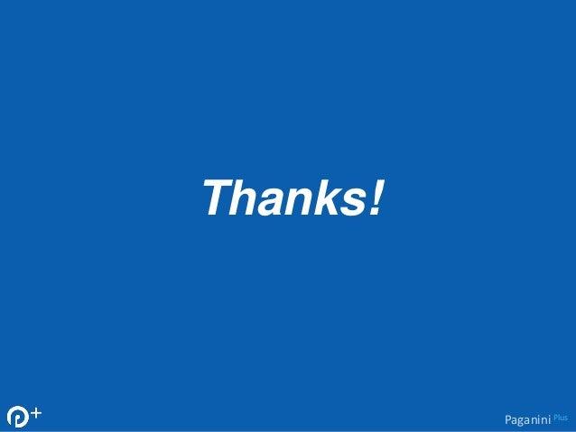Thanks!  Paganini Plus