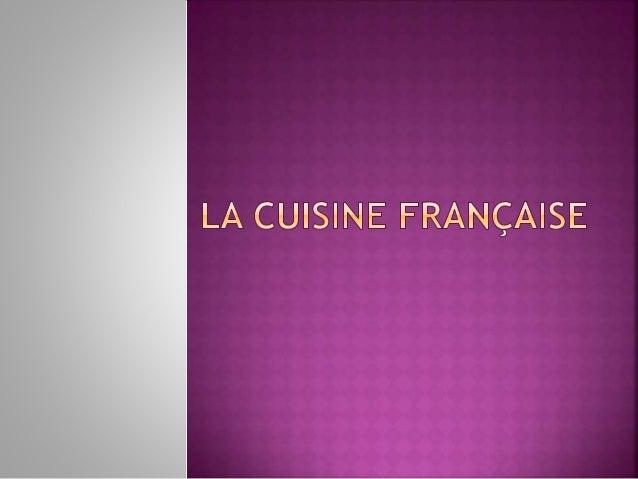  La gastronomie est l'ensemble des regles,qui  définissent l'art de faire bonne chère. « Faire bonne  chère » signifiait ...