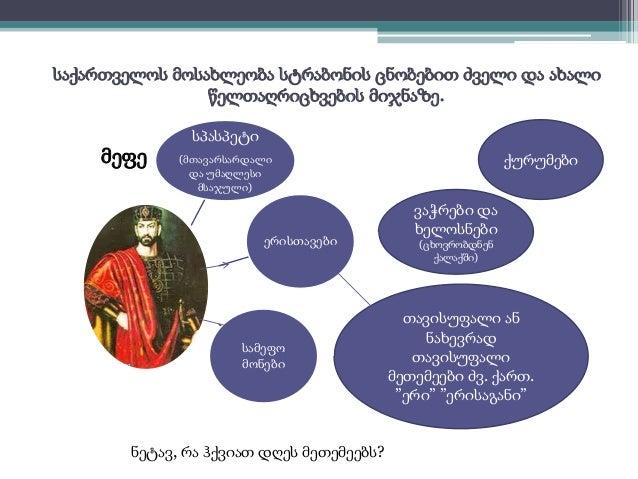 საქართველოს მოსახლეობა სტრაბონის ცნობებით ძველი და ახალი  წელთაღრიცხვების მიჯნაზე.  სპასპეტი  მეფე ქურუმები  (მთავარსარდალ...