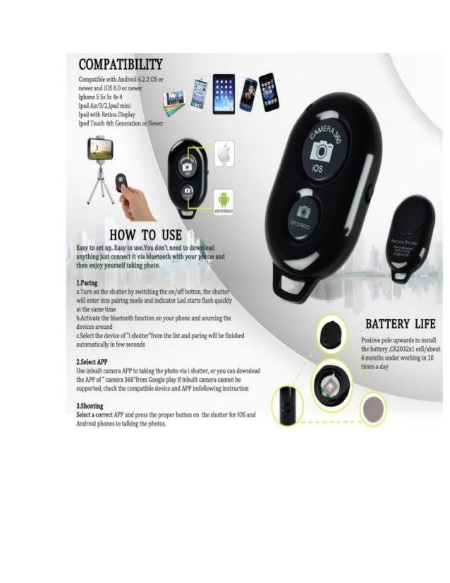Okeyn Bluetooth Remote Shutter