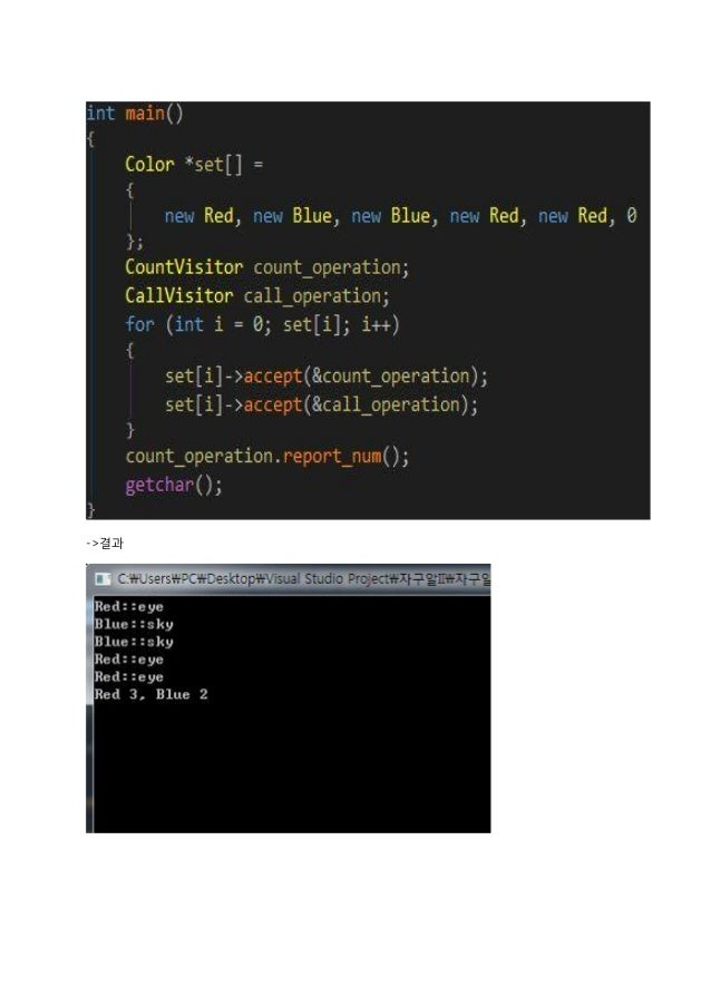 -Component 하위 클래스인 composite 와 leaf 클래스 객체 생성 후 값을 넣어 사용한다.