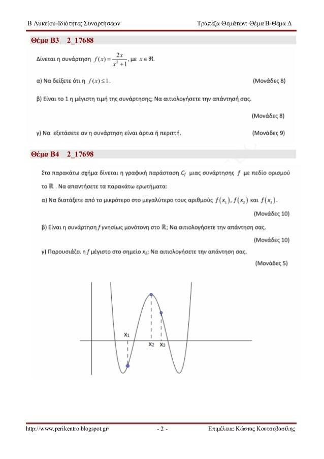τ.θ. β  αλγεβρα-ιδιοτητεσ συναρτησεων Slide 3