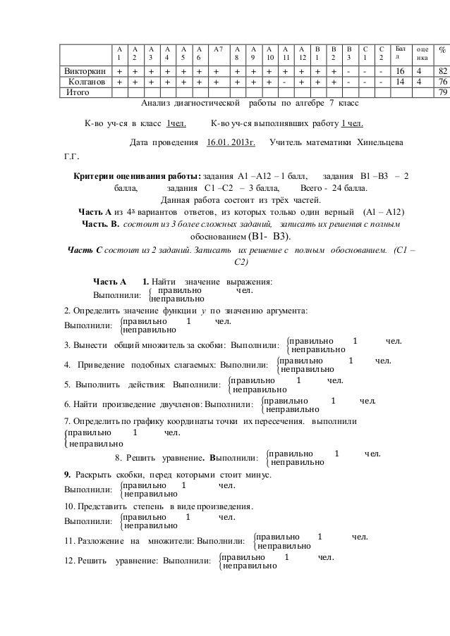 Домашние работы по алгебре за 7 класс колягин без регистрации