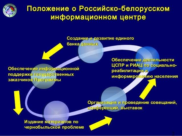 2  Положение о Российско-ббееллооррууссссккоомм  ииннффооррммааццииоонннноомм ццееннттррее  ССооззддааннииее ии ррааззввии...
