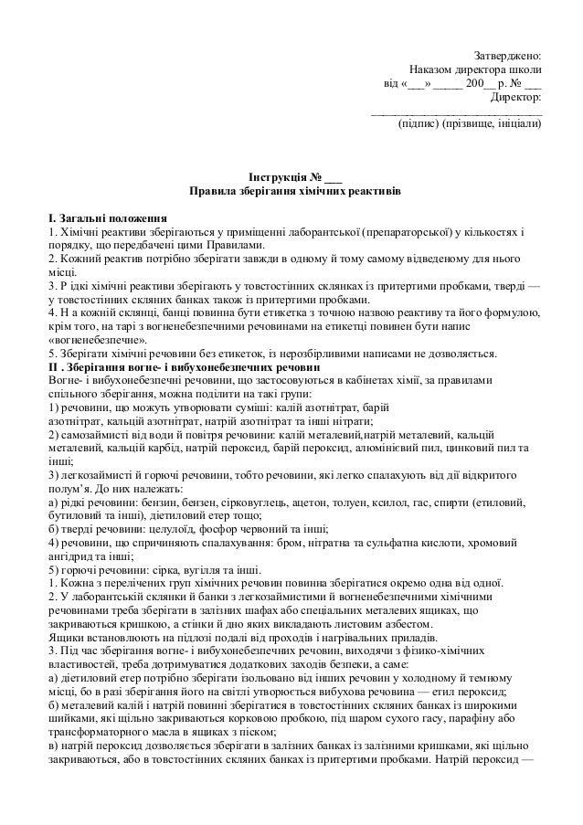 Посадова инструкция директора