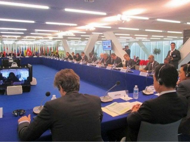 〇ECD (経済開発†謡力機構) 閣僚糸及会合で議長として会合を運営