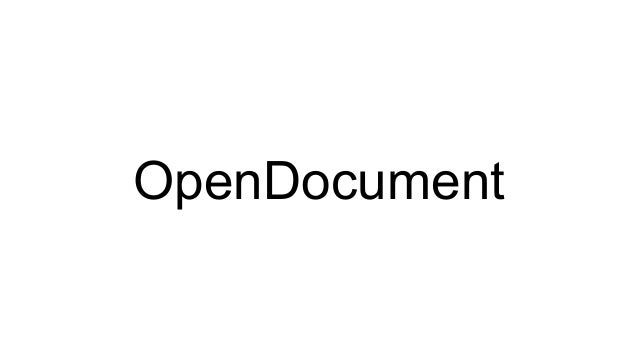 pod (python open document)