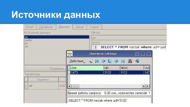 Видео процесса создания отчета http://penta.by/?p=139